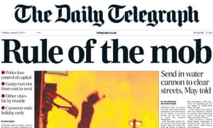 Daily Telegraph - 9 August 2011
