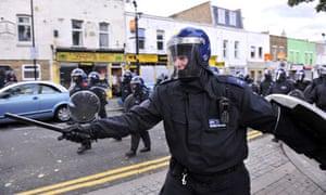 London riots: Hackney