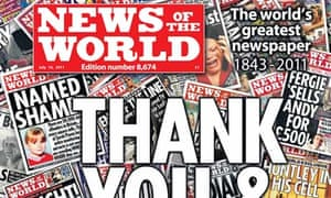 News of the World: final issue