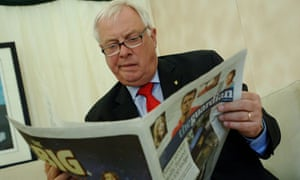 Lord Patten reads the Guardian