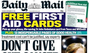 Daily Mail - September 2011