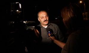 Al-Jazeera reporter Samer Allawi