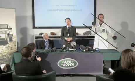 Land Rover 'April Fools' video