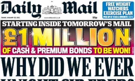 Daily Mail - 20 January 2012