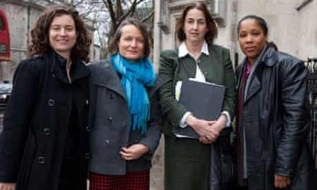 Leveson inquiry: Anna van Heeswijk, Jacqui Hunt, Heather Harvey and Marai Larasi