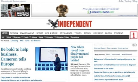 Independent.co.uk - January 2012