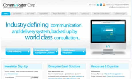 Communicator Corp website