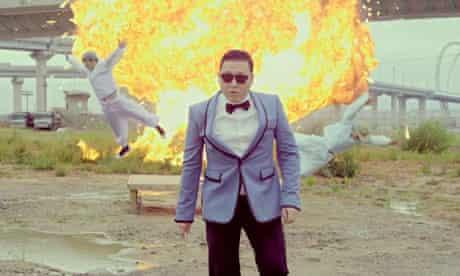 Psy: Gangnam Style video