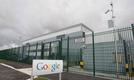 Google's new data centre in Dublin