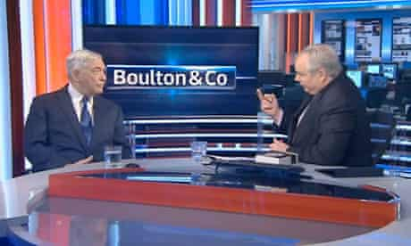 Conrad Black on Sky News show Boulton & Co