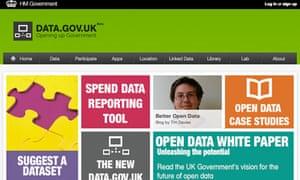 data.gov.uk website