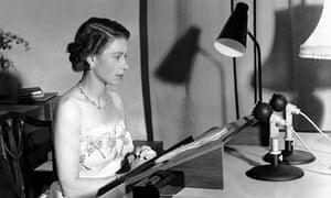 Queen Elizabeth II christmas broadcast 1953