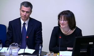 Leveson inquiry: Ed Richards and Colette Bowe