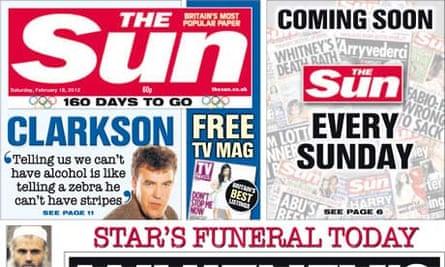 The Sun - Saturday 18 February