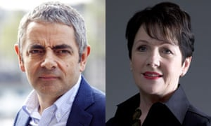 Rowan Atkinson and Miriam O'Reilly