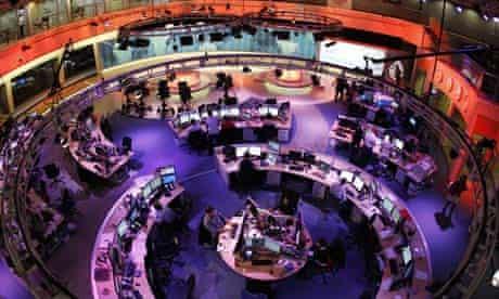 Al-Jazeera English newsroom