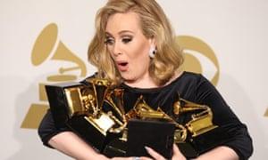 Adele at Grammys