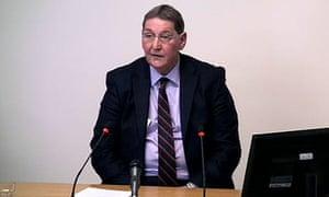 Leveson inquiry: Clive Driscoll