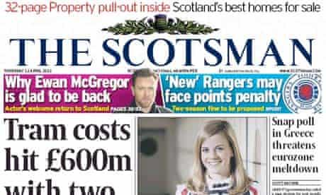 The Scotsman - April 2012