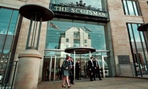 The Scotsman offices in Edinburgh