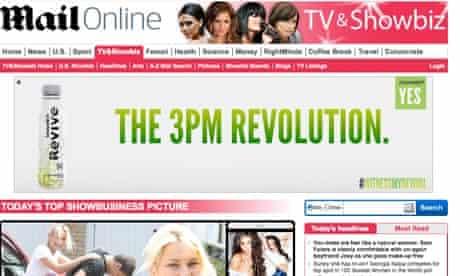 online banner ad