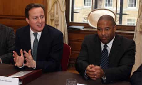 David Cameron and John Barnes