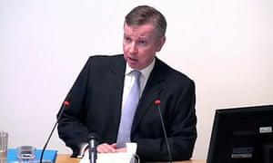 Leveson inquiry: Michael Gove