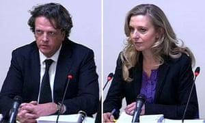 Richard Wallace and Tina Weaver