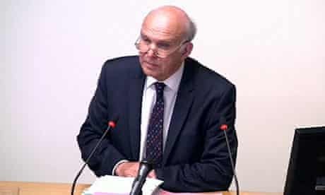 Leveson inquiry: Vince Cable