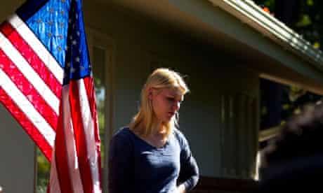 Carrie in Homeland