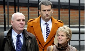 Leveson inquiry: Milly Dowler's parents with lawyer Mark Lewis