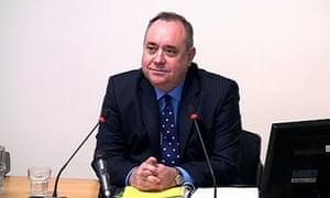 Leveson inquiry: Alex Salmond
