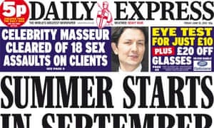 Daily Express - 15 June 2012