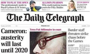 Daily Telegraph - 19 July 2012