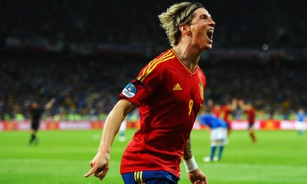 Euro 2012 final: Fernando Torres of Spain