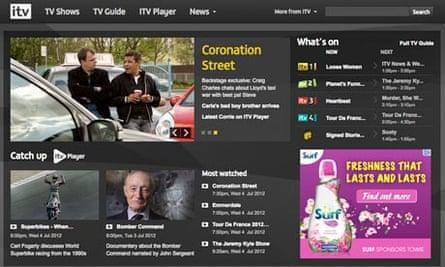 ITV website