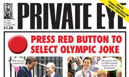 Private Eye - August 2012