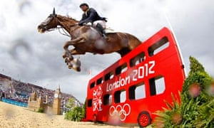London 2012 equestrian jumping