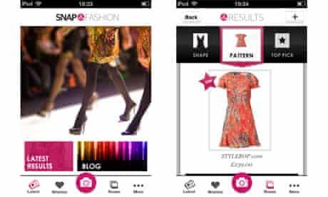 Snap Fashion app