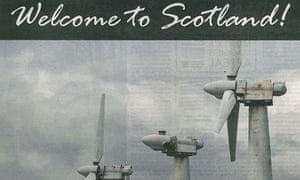Scottish anti-wind turbine ad