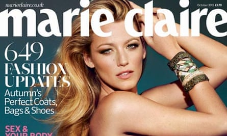 Marie Claire October 2012 newsstand cover