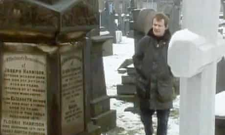 Tony Harrison in the original Channel 4 broadcast of V