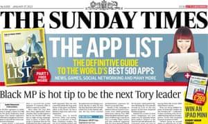 Sunday Times - January 2013