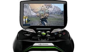 Nvidia's Project Shield portable games console