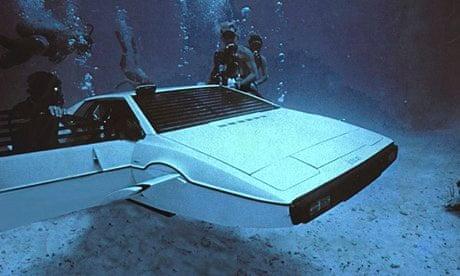 Tesla founder Elon Musk buys James Bond's Lotus Esprit submarine car
