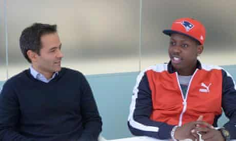 Miroma Ventures founder Marc Boyan with SBTV's Jamal Edwards