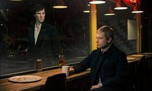 Sherlock: Benedict Cumberbatch and Martin Freeman