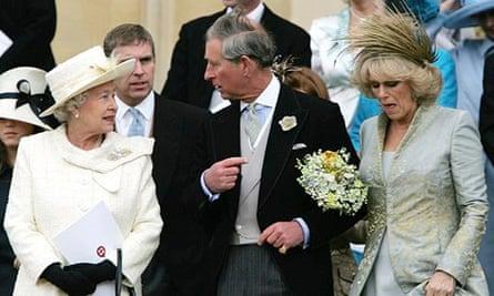 Prince Charles and Camilla Parker Bowles's wedding