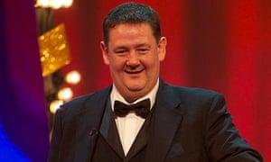 British Comedy Awards: Johnny Vegas