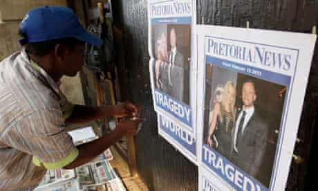 Oscar Pistorius newspaper coverage